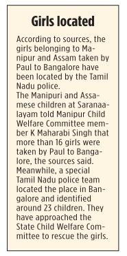 Girls-taken-to-Bangalore-by-Paul