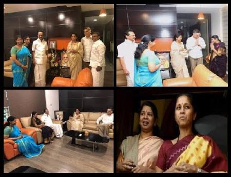 Kanimozhi, Supriya, family