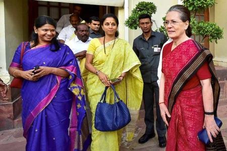 Kanimozhi, Supriya, Sonia