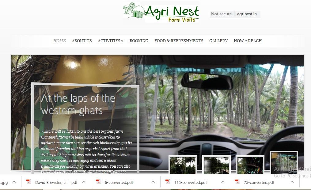 Agrinest Farm, Pollachi