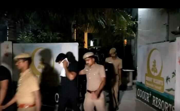 Odour resort, Mamallapuram, off ECR-arrested-3