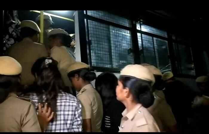 Odour resort, Mamallapuram, off ECR-arrested-4