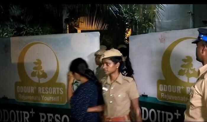 Odour resort, Mamallapuram, off ECR-arrested-5