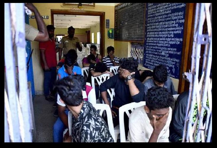 Odour resort, Mamallapuram, off ECR-arrested