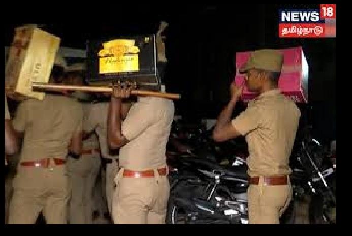 Odour resort, Mamallapuram, villa-seized items